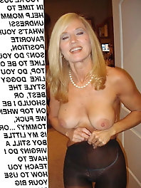 Crazy mature women in provocative bra